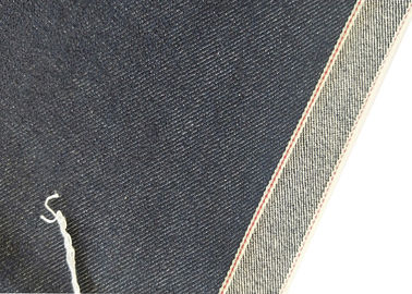 11.43 أوقية 36.7 بوصة إنديجو Selvedge Denim 68 * 48 Jeans Fabric W190202 Durable